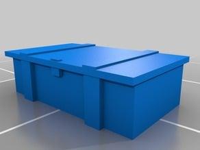 1/72 scale ammo box