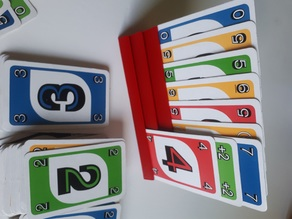 UNO playing card holder - hands free