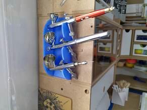 Magnetic Vertical Airbrush Holder