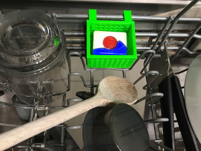 Dishwasher Soap Basket