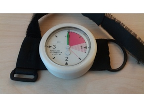 Parachutes de France analog altimeter replacement shell