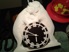 Two Bears Clock