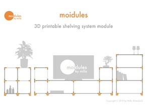 Moidules - Create your own custom made shelving system at home!