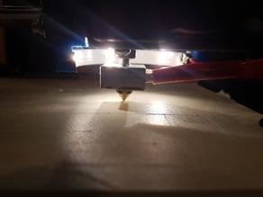 Anet A8 Nozzle light