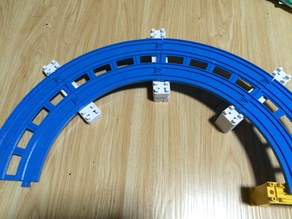 Plarail double-track mini piers