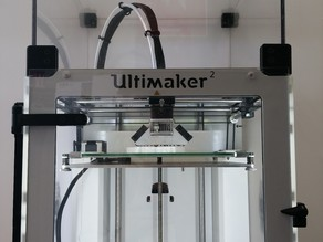 Ultimaker 2 front door