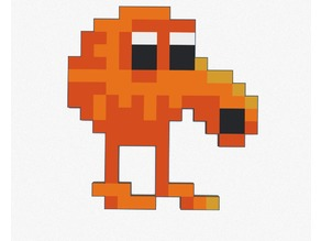 Pixelated Qbert