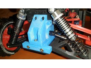 Differential case housing - for metal part.
