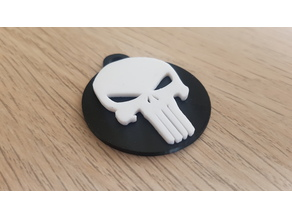 The Punisher Keyfob