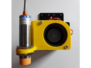 Anet A8 Extruder Fan Modification with 18mm Sensor Mount