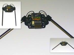 FrSky D4R-II Tray w/ Folding Antenna Holder