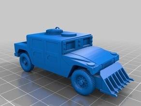 Gaslands Military Truck