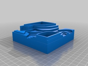 Topographical pot