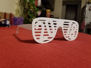 2018 New Years Glasses (No Support)