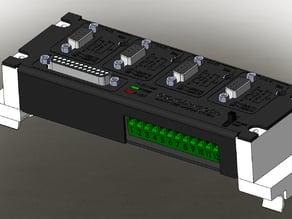 CNC router Gecko G540 35mm din rail mount