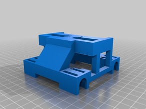 Creator Pro / Replicator / Duplicator X-Axis Carriage for E3D Cyclops/Chimera EXPERIMENTAL