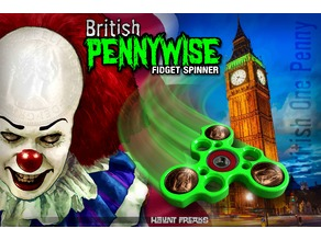 Pennywise Spinner - British penny version