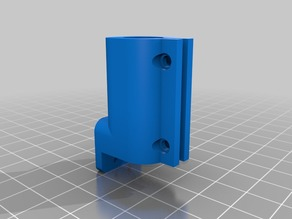 Monoprice Select Mini Z-stabilizer limit switch bracket