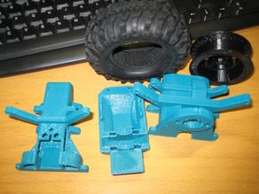 Fixed some parts for BFB Buggy remote control