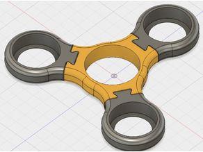 Interchangeable Arm Penny Fidget Spinner