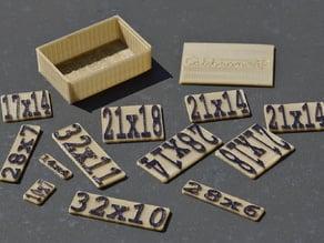 Calibron Twelve Block Puzzle (Calibron 12)
