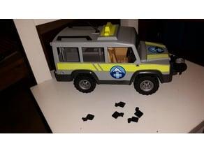 Playmobil mountain rescue jeep mirror