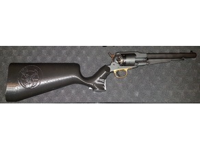 crosse Remington Pattern Pedersoli, remington 1858 stock