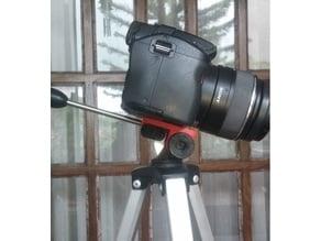 Camera tripod universal head