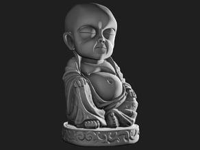 Creepy Baby Buddha