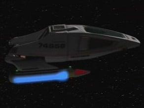 Type 9 Shuttle from Star Trek Voyager