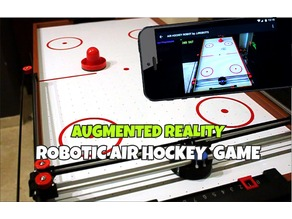 Air Hockey Robot EVO (SMARTPHONE CONTROLLED - OPEN SOURCE ROBOT)