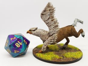 Hippogriff (Hippogryph) for 28mm Tabletop Roleplaying