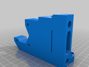 Prusa i3 MK2 Motor X-End with 15mm Extension