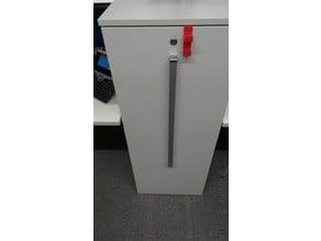 Steelcase cabinet coat hanger
