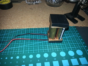Battery holder 4xAA Square