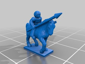 Imperial Guard Rough Rider for Epic 40K (6mm scale)