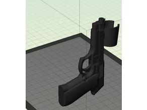 Microphone Gun Holder