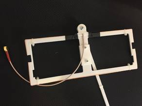 Moxon antenna (adjustuble fine tunning)