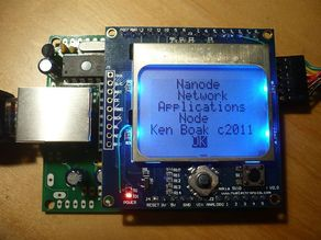 Nanode - a Network Applications Node based on Arduino technology
