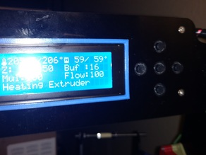 Anet A8 LCD Bezel for v1 & v2
