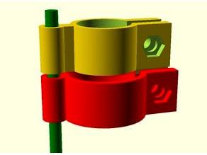 Pole clamp for Tripod