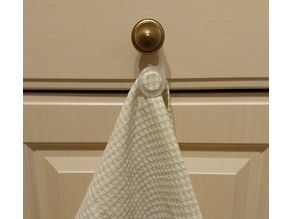 Towel Hook (PP or living hinge capable material)