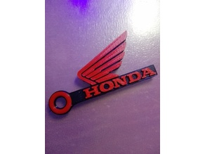 Honda Motorcycle Keychain