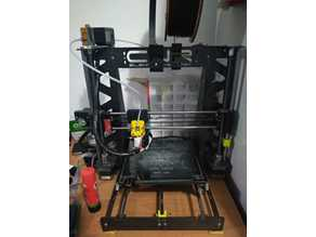 Filament holder for 3mm chassis
