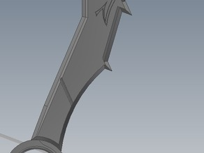 Draven's Axe from league of legends