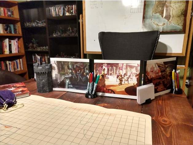 Adventure Flex: Make your Own GM Screen, Dice Tower, and