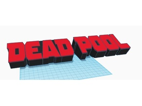 Dead Pool Bookend