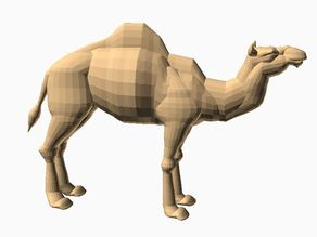 Camel  - All OPENSCAD