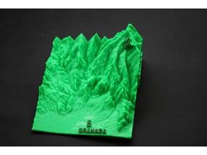 Ultra Sierra Nevada Running Mountain