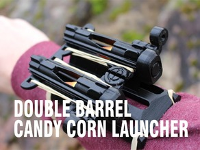 Double Barrel Candy Corn Launcher